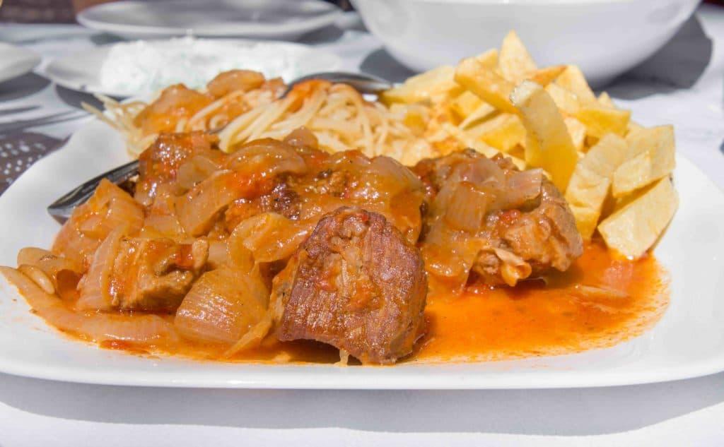 Stifado ist immer leckeres griechisches Essen