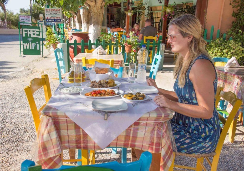 Hungrig bleibt man bei den Restaurants auf Kreta nie