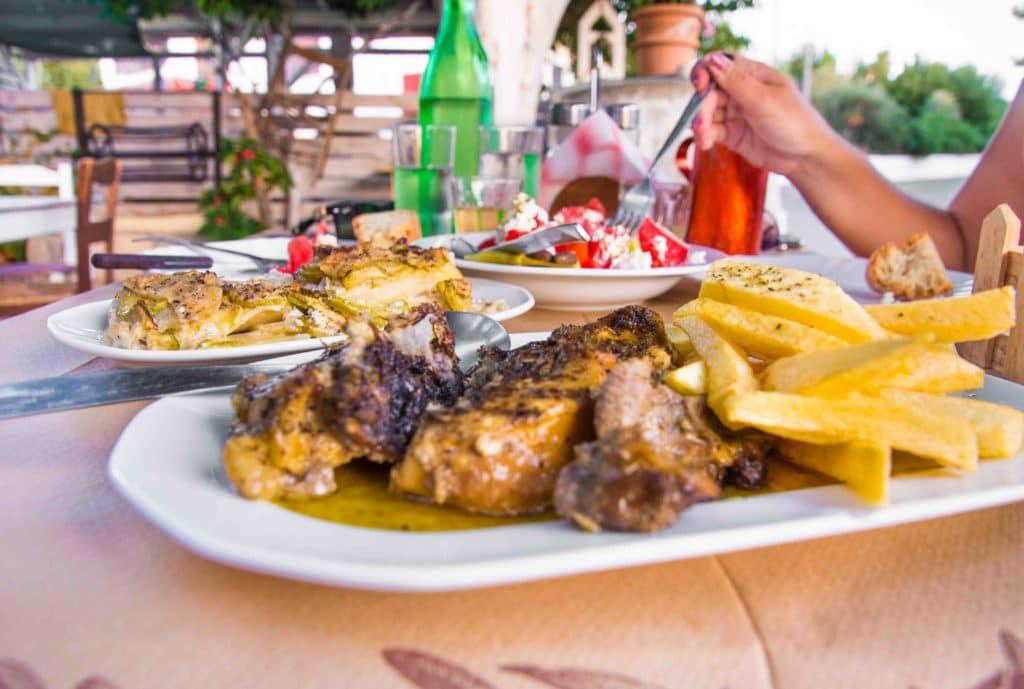 Restaurants auf Kreta haben nicht immer eine Speisekarte
