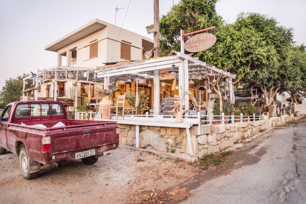 Taverne Paliomylos  - Ein Geheimtipp neben Chania