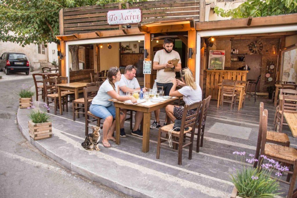 Ein Favorit unter den Restaurants auf Kreta