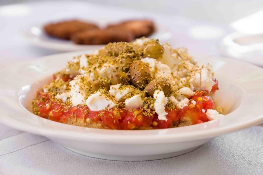 Dakos ist typisches Kreta Essen