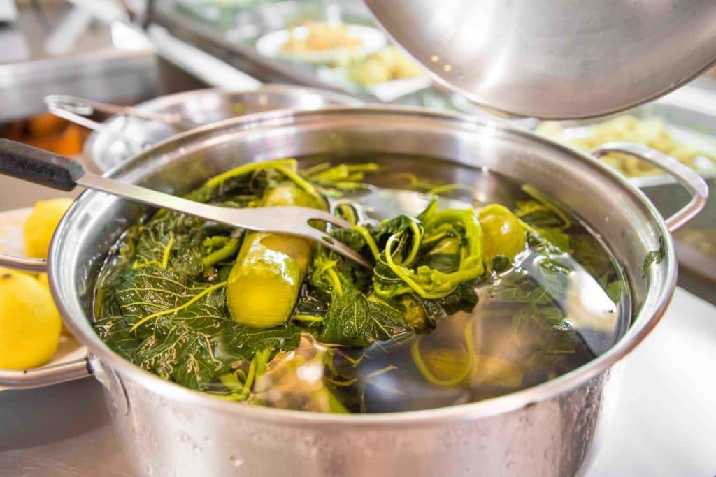 Chorta , Horta oder Wildgemüse: unbedingt auf Kreta essen!