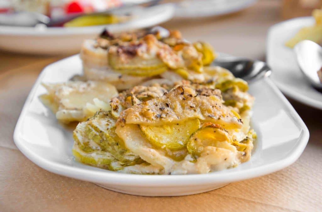 Eines der besten Kreta Essen: Boureki