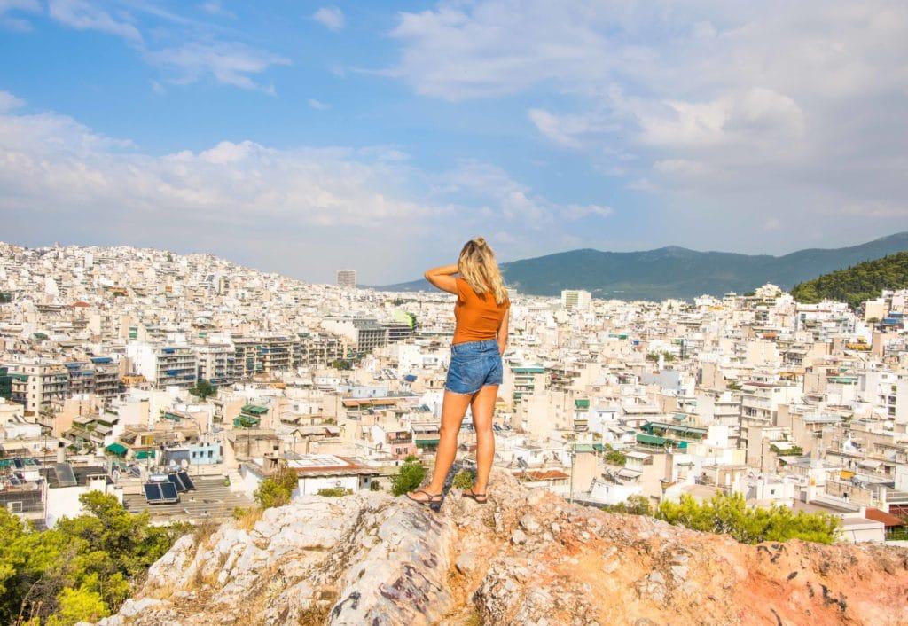 Aussicht Athen Geheimtipp