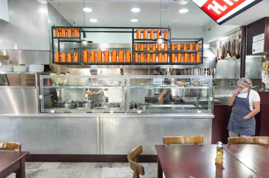Athen Geheimtipps:: Am Markt essen!