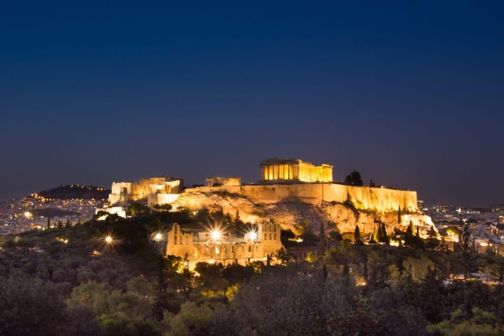 Aussicht Akropolis