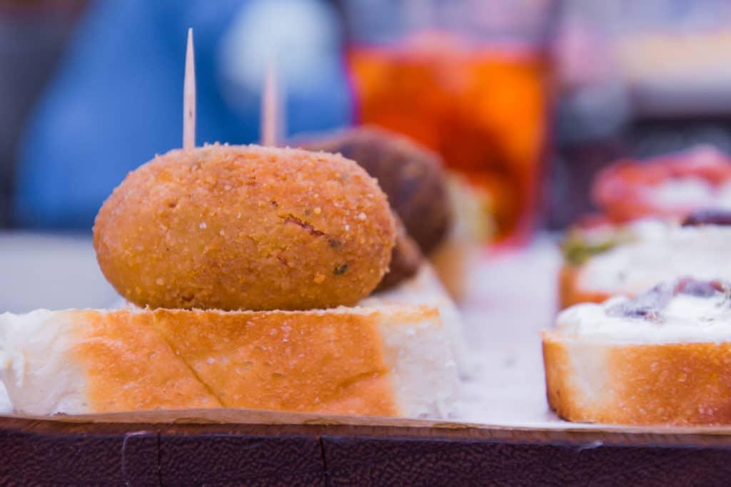 italienische Gerichte: Cicchetti