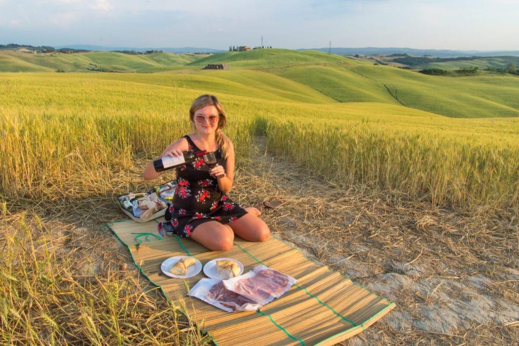 Leckere italienische Aufschnitte eignen sich bestens für ein Picknick